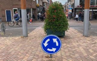Bij gemeente Súdwest-Fryslân is bewust gekozen voor de overgang op biobased verkeersborden